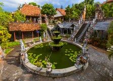 Banjar佛教寺庙-海岛巴厘岛印度尼西亚 库存照片