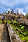 Banjar佛教寺庙-海岛巴厘岛印度尼西亚 免版税库存照片