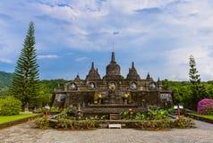 Banjar佛教寺庙-海岛巴厘岛印度尼西亚 免版税库存图片