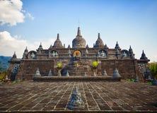 Banjar Buddist寺庙。 印度尼西亚。 库存照片