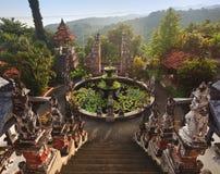 Banjar budhist寺庙巴厘岛 库存图片