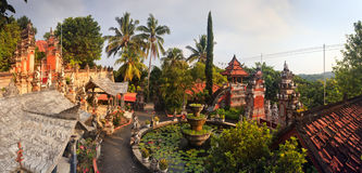 Banjar budhist temple Bali Royalty Free Stock Photos