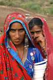 banjara印度妇女 免版税库存照片