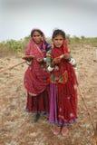 banjara印度妇女 库存照片