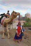 banjara印度妇女 图库摄影