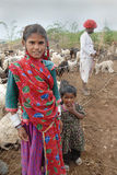 banjara印度部落 库存图片