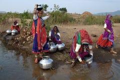 Banjara Frauen in Indien Stockfotografie