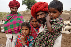 Banjara Tribes in India stock image