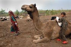 Banjara Tribes in India Royalty Free Stock Images
