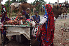 Banjara Tribes in India Stock Photography