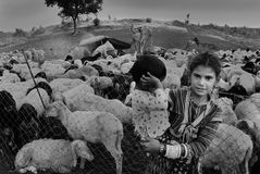 Banjara Tribes in India Royalty Free Stock Photo
