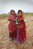 BANJARA VROUWEN IN INDIA Stock Foto