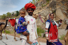 banjaraindia stammar Arkivbild