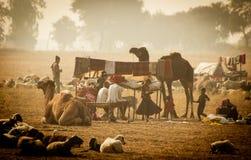 Banjaras indiano fotografia stock