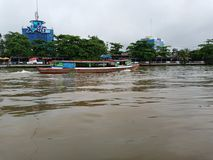 Banjarmasin city royalty free stock photography