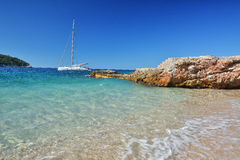 Banje Beach - Dubrovnik Croatia Royalty Free Stock Photo