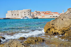 Banje Beach - Dubrovnik Croatia Stock Photography