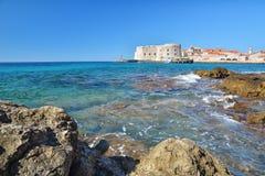 Banje Beach - Dubrovnik Croatia Stock Photo