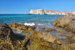 Banje Beach - Dubrovnik Croatia Royalty Free Stock Images