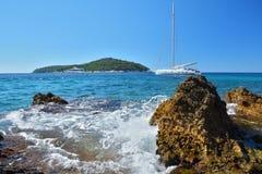 Banje Beach - Dubrovnik Croatia Royalty Free Stock Photo