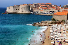 Banje beach Dubrovnik Croatia Royalty Free Stock Photo