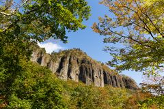Banji Iwa,  precipitous cliff in Japan Stock Photography