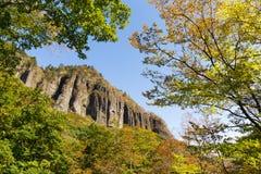 Banji Iwa,  precipitous cliff in Japan Royalty Free Stock Photography