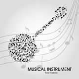 Banjo illustration stock