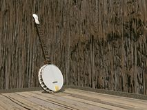 Banjo - 3D render Royalty Free Stock Image