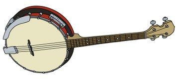Banjo de quatre ficelles Photographie stock libre de droits