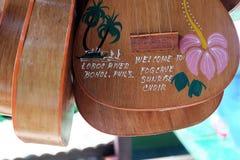 Banjo Guitar from Bohol, Philippines Royalty Free Stock Image