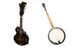 Banjo isolated Royalty Free Stock Photos