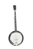 Banjo isolated on a white background Stock Photography