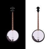 Banjo isolato illustrazione di stock