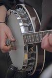 Banjo, Koordinstrument Royalty-vrije Stock Afbeeldingen