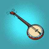 Banjo musical instrument Royalty Free Stock Photo