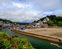 Banjo Pier, Looe, Cornwall Royalty Free Stock Images