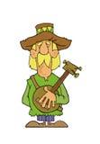 Banjo player Royalty Free Stock Photos