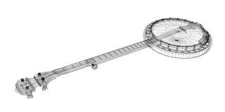 Banjo - 5 string Royalty Free Stock Photo