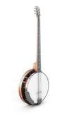Banjo sur un blanc Photographie stock libre de droits