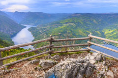Banjska stena viewpoint at Tara National Park, Serbia Stock Photo