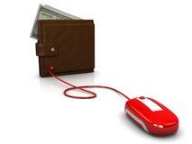 banków internety Zdjęcie Stock
