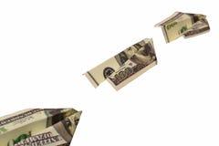 Banków transters metafora Zdjęcie Stock