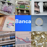 Bank Arkivfoton