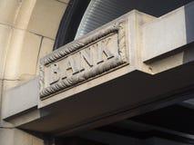 Bank lizenzfreies stockfoto