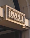 Bank stockfotos