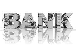 Bank royalty-vrije illustratie