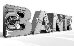Bank stock illustratie