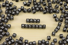 The bank account Royalty Free Stock Photos