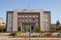 Bank al Maghrib in Marrakesh Royalty Free Stock Image
